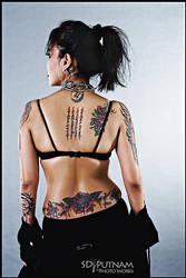 back tattoos by ShanP-8299