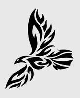 Tribal Raven Tattoo by twistedCaliber