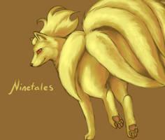 Ninetales by twistedCaliber