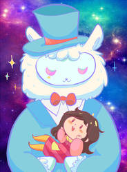 Space Paca by CutieKaboom