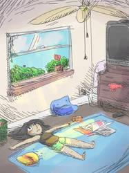 Lazy Summer by CutieKaboom