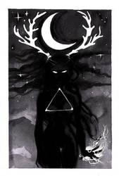 Day 24 Lunar Witch by sabriel88