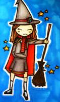 Hermione Granger by katiebroke