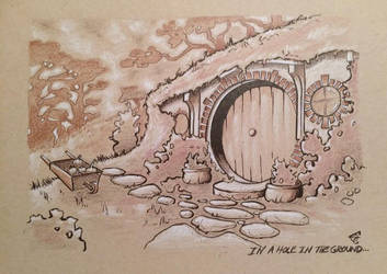 HOBBIT HOLE by WILLEYWORKS