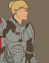 'My Name is Commander Shepard. by Kalmiya
