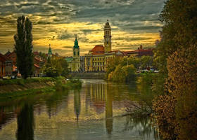 Oradea Postcard updated by violety