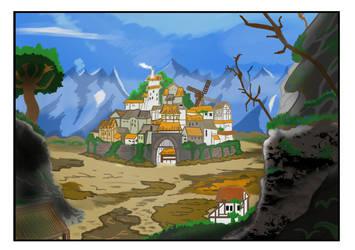 The Hilltop Kingdom by tokugawamusashi