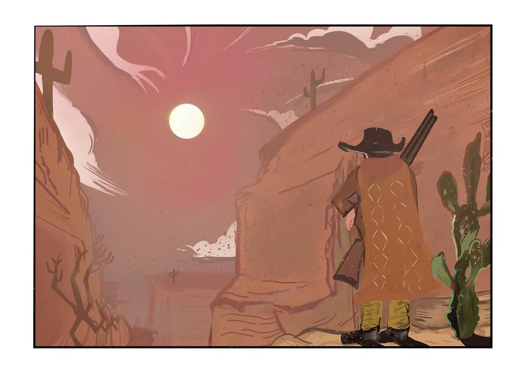 Lonely western by tokugawamusashi