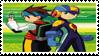 Megaman Battle Network Stamp by ColleenekatStamps