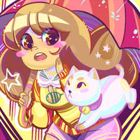 Bee and Puppycat by Nuryfury