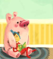 bedtime story by plavalaguna