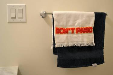 Don't Panic by plavalaguna
