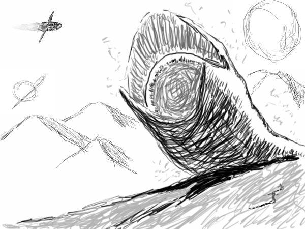 Dune Worm by zubzub93