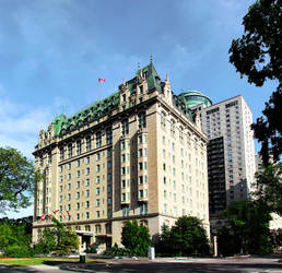 Fort Garry Hotel 2 Picture Panorama by Joe-Lynn-Design