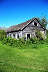 Old Barn on the Prairie by Joe-Lynn-Design