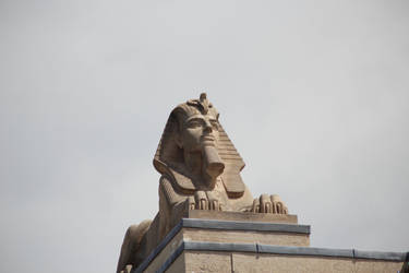 Sphinx on the Roof - Manitoba Legislative Building by Joe-Lynn-Design