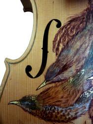 Birds on a Fiddle 2 by naomirandall