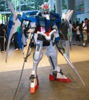Gundam 00 Raiser - 7 of 10 by Clivelee