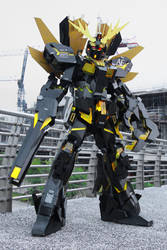 Unicorn Gundam 02 Banshee Norn cosplay by Clivelee