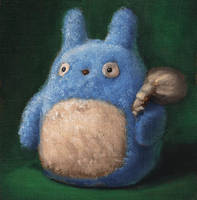 Totoro - unfinished by lost-buoy
