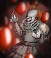 IT - Pennywise - 4 by SessaV