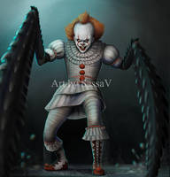 Pennywise - It -8 by SessaV