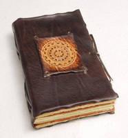 Medieval Compass Notebook by gildbookbinders