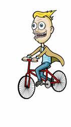 On your bike by Catnip-Thief