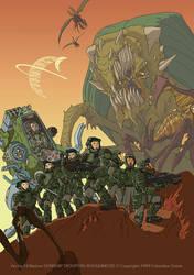 Starship troopers: Roughnecks by filbarlow