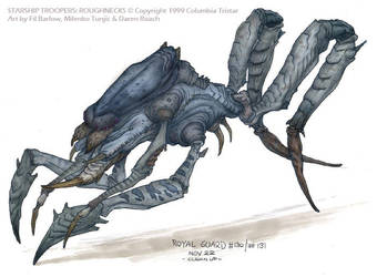 Royal Guardian Bug: SST by filbarlow
