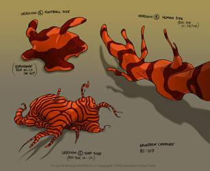 Godzilla Ep103: Nanotech Creature 01 by filbarlow