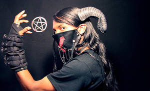 The Horned Occultist by Onyx-Philomel