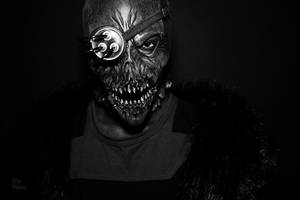 Demonic Face by Onyx-Philomel