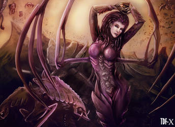 Queen Of Blades by TDF-X
