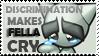 Fella Cry With Discrimination by Luna-Akari