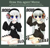 Before and After Meme: Luna by Luna-Akari