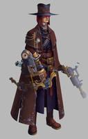Van Helsing by Jack-Yattering
