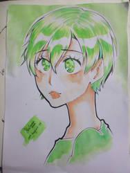 Green by BleuSamaXxDxX