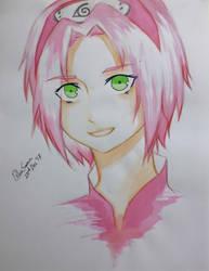 Sakura Haruno by BleuSamaXxDxX