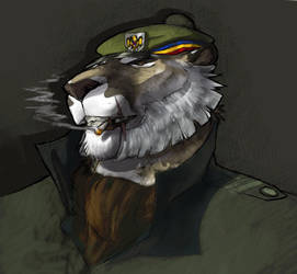 New tiger char by RogueLiger