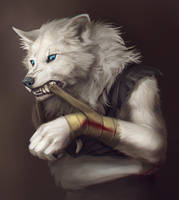 NagiWolf -commission- by RogueLiger