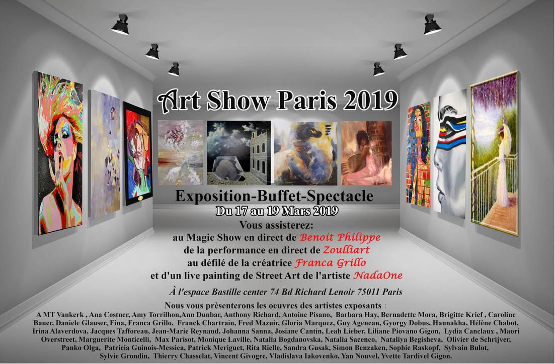 art show paris flyers Off by lecristal