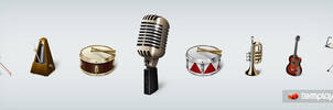 Musicons Icon Set by templay-team