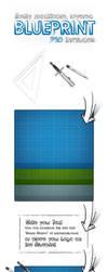 Blueprint Icon PSD by templay-team