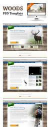 Woods Template PSD by templay-team