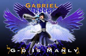 Archangel Gabriel by Haleviyah