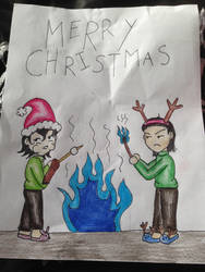 A Sharpie Style Christmas by crystal-of-ix