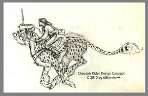 Cheetah Rider Concept by M-Skirvin