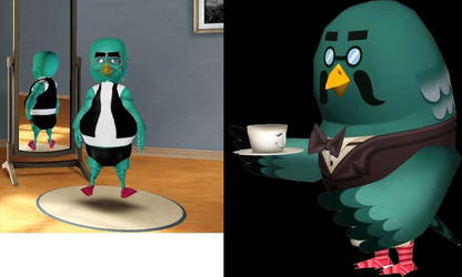 Brewster from Animal Crossing (Sims 3) by Alberta360