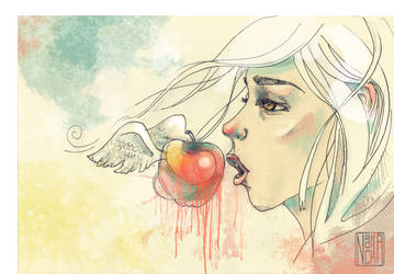 Apple by yourPorcelainDoll